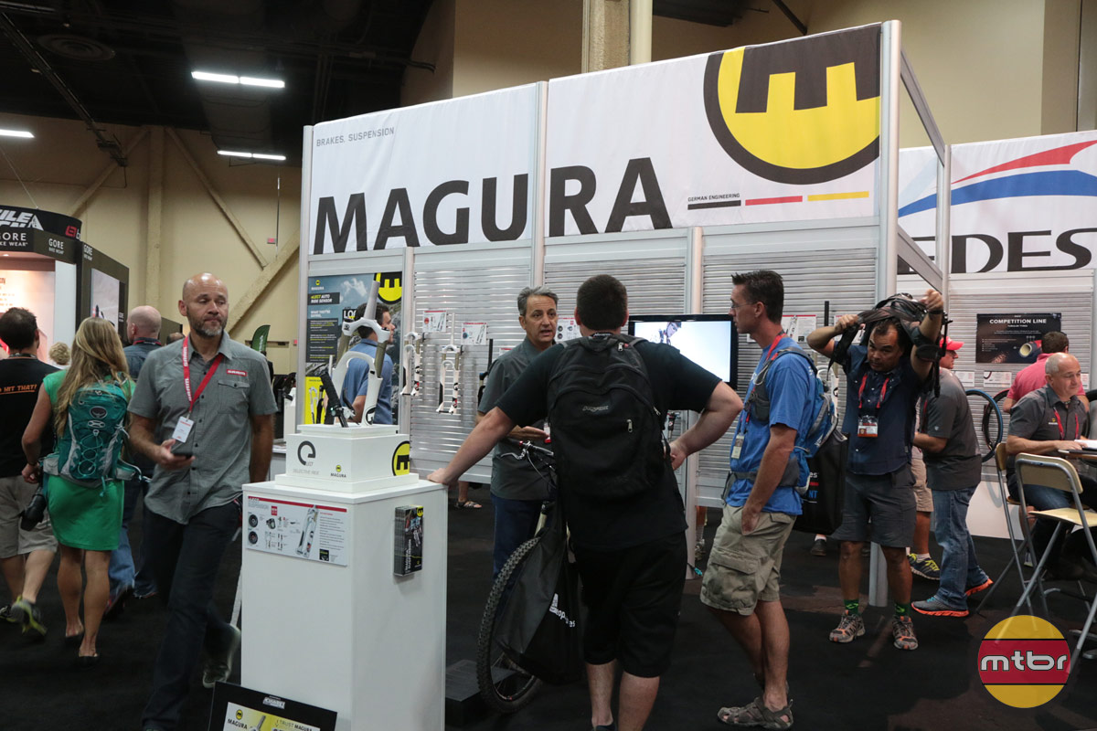 Magura Interbike Booth