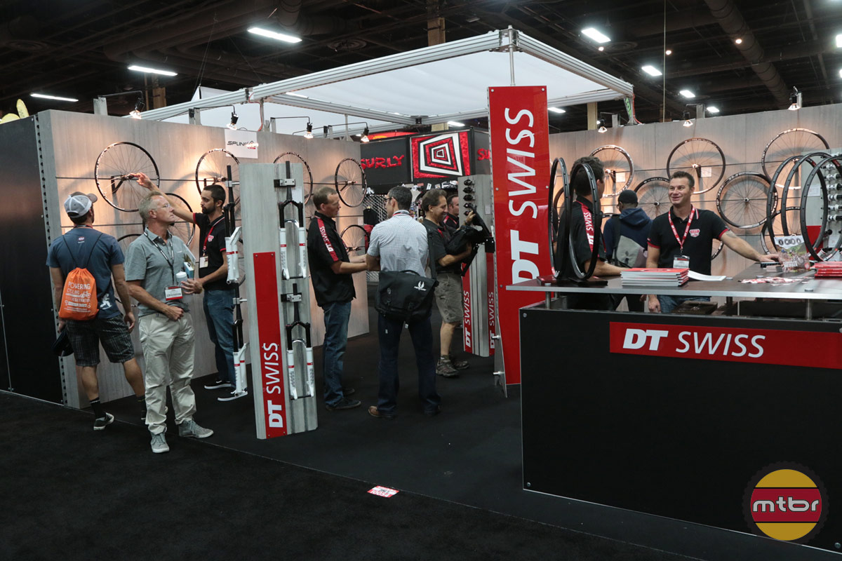DT Swiss 2013 Interbike Booth