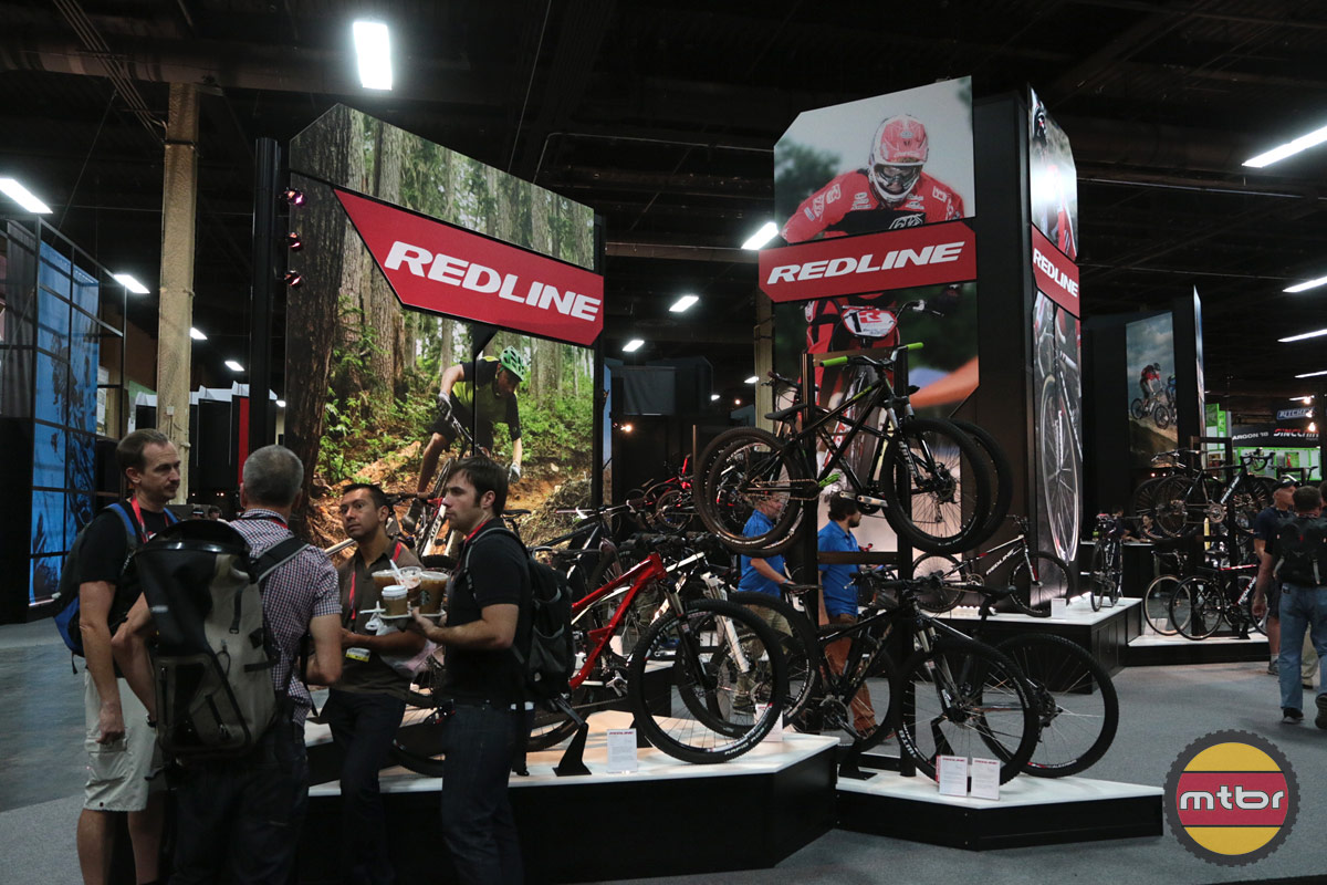 2013 Redline Interbike Booth