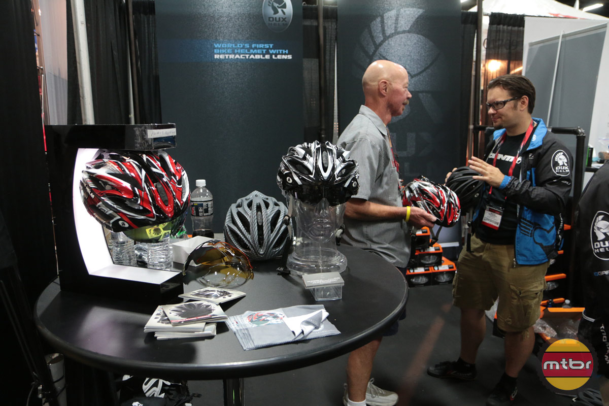 Dux Helm 2013 Interbike Booth