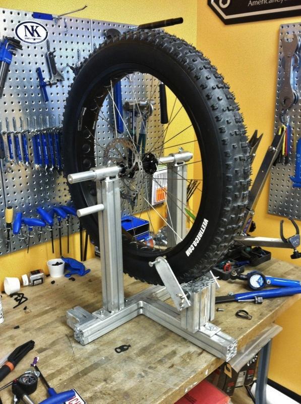 My Fat Wheel Truing Stand Mtbr Com