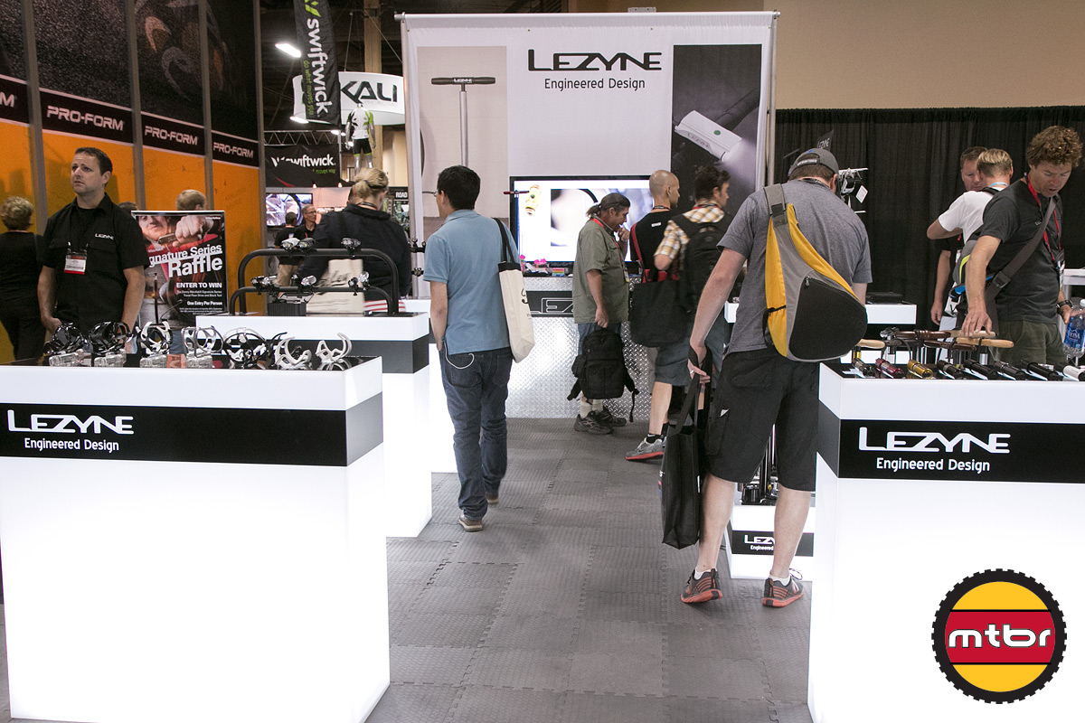 2013 Lezyne Interbike Booth