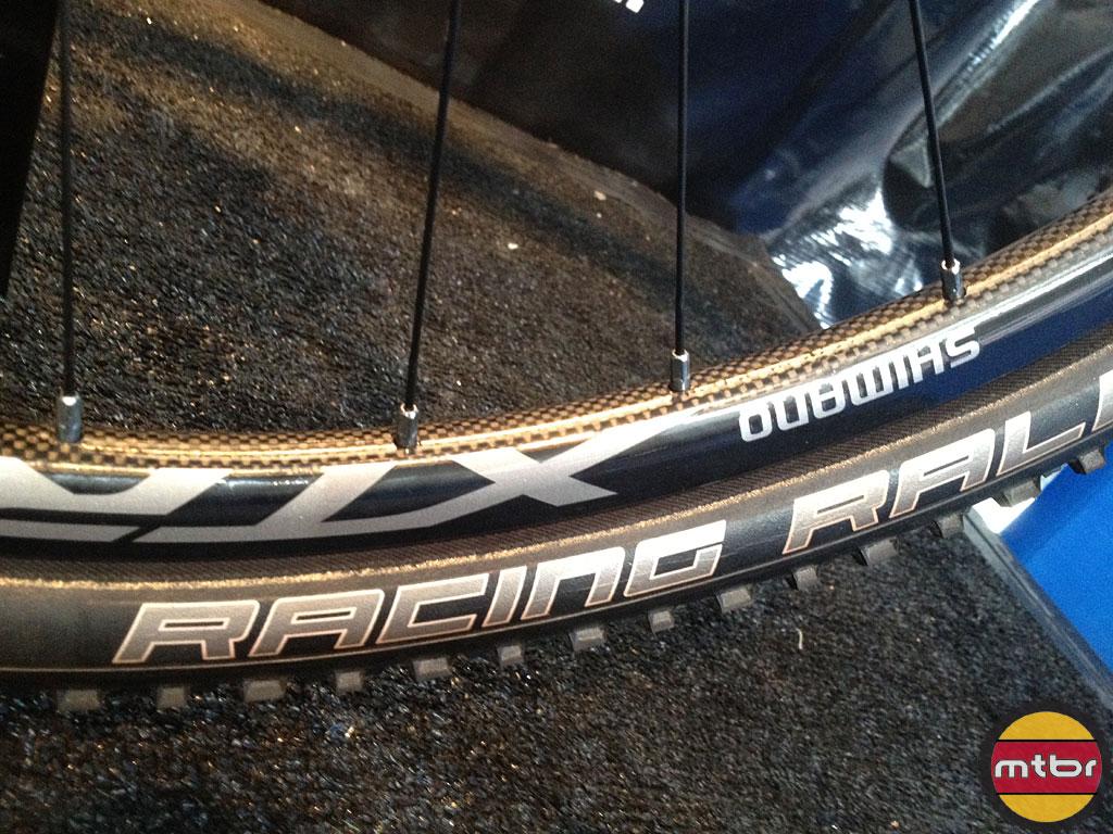 Shimano XTR tubular carbon 29er wheelset