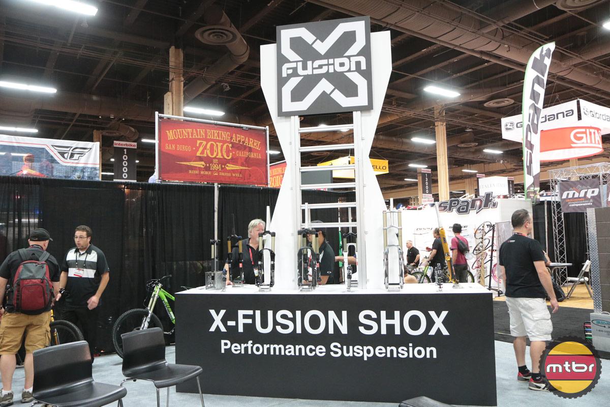 X-Fusion 2013 Interbike Booth