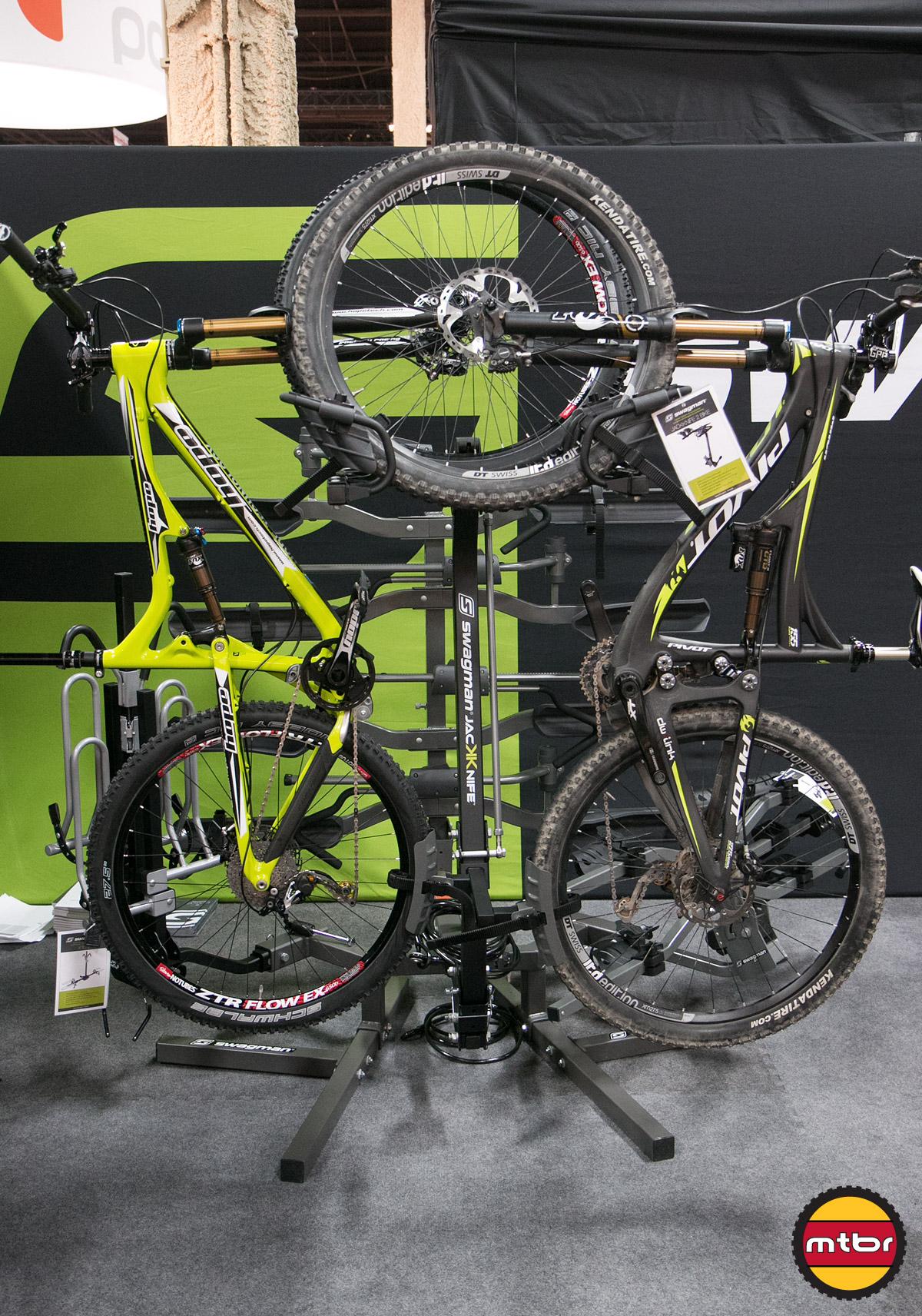 Swagman Jacknife Vertical Bike Rack