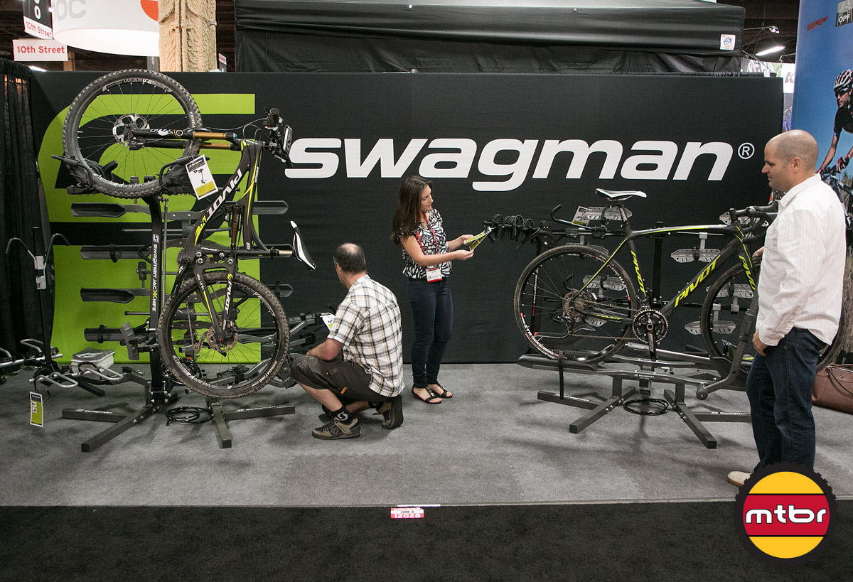 Swagman Bike Racks Interbike Booth