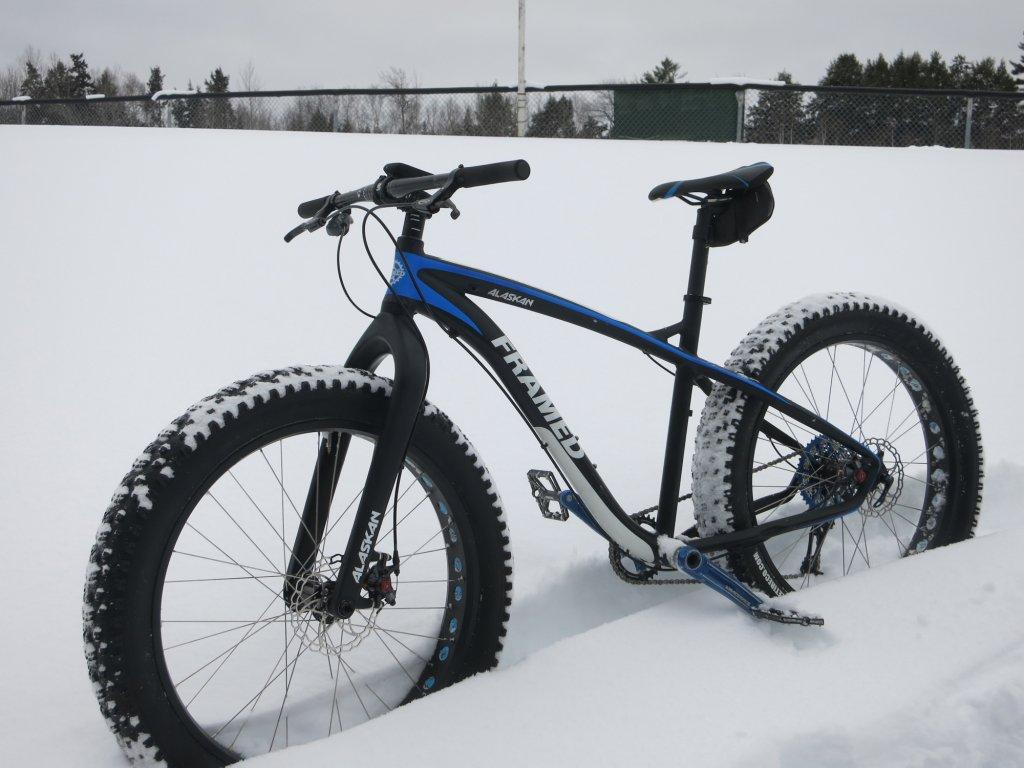 My New Framed Alaskan Alloy Img 1633 Jpg Cur Bikes