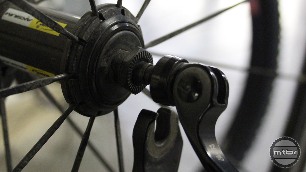 Once upon a time, we all used QRs to keep our wheels attached to our bikes.