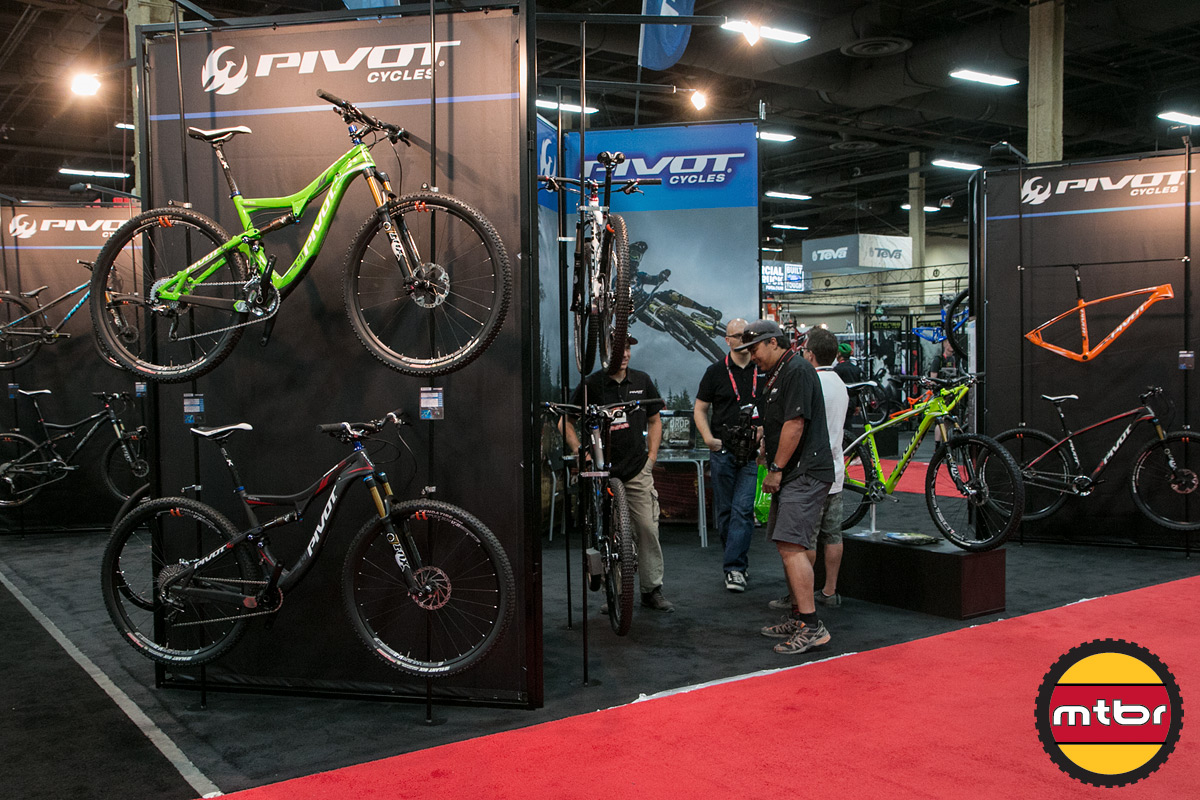 Pivot 2013 Interbike Booth