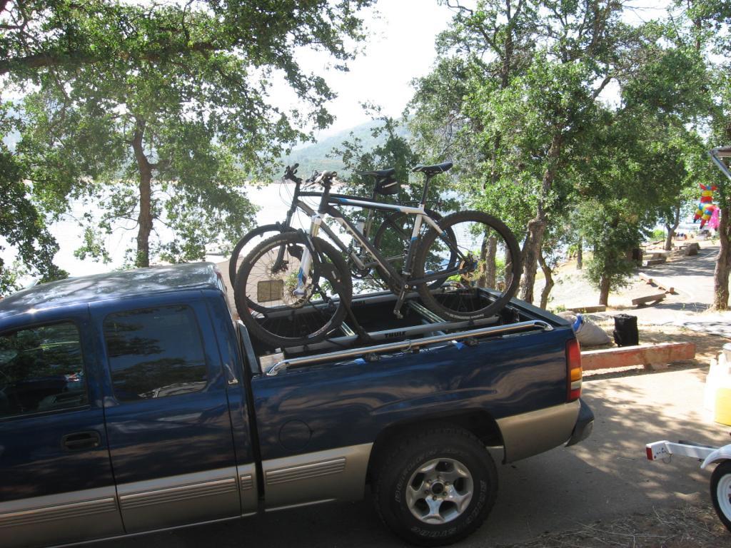 Silveradosierra Com Securing Mtn Bike In Bed W A Tool Box Uncategorized Truck Topics