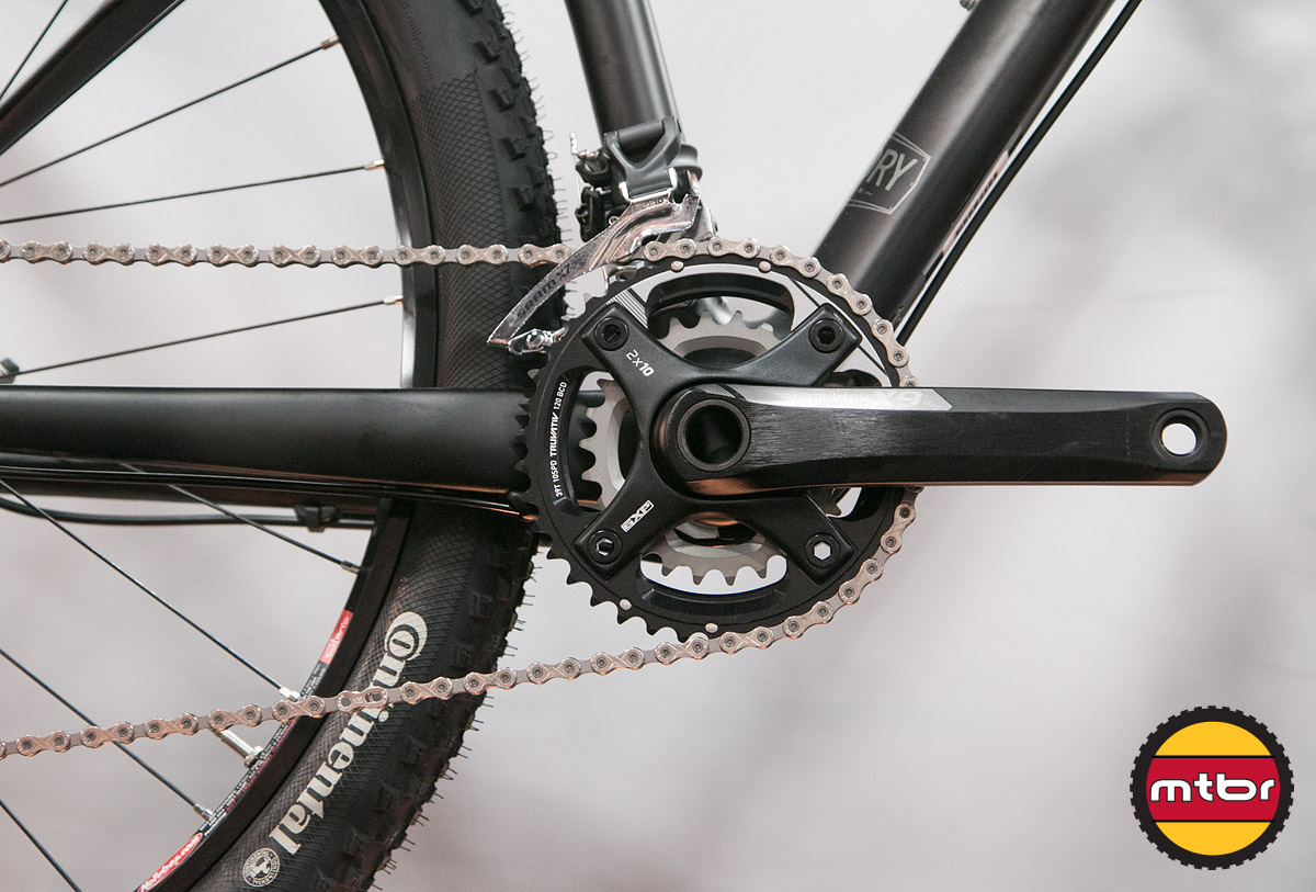 Foundry Broadaxe 29er - Crankset Detail