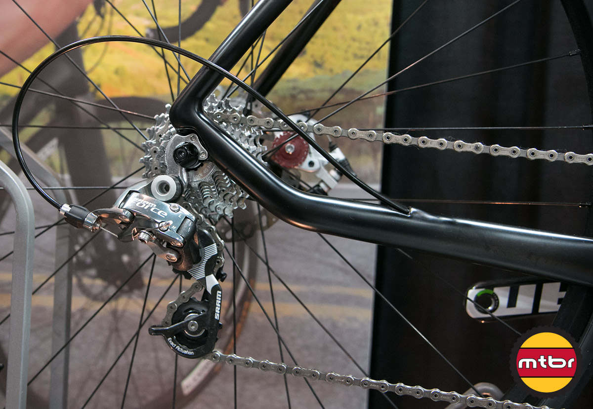 Foundry Riveter - Rear Triangle & Drivetrain Detail