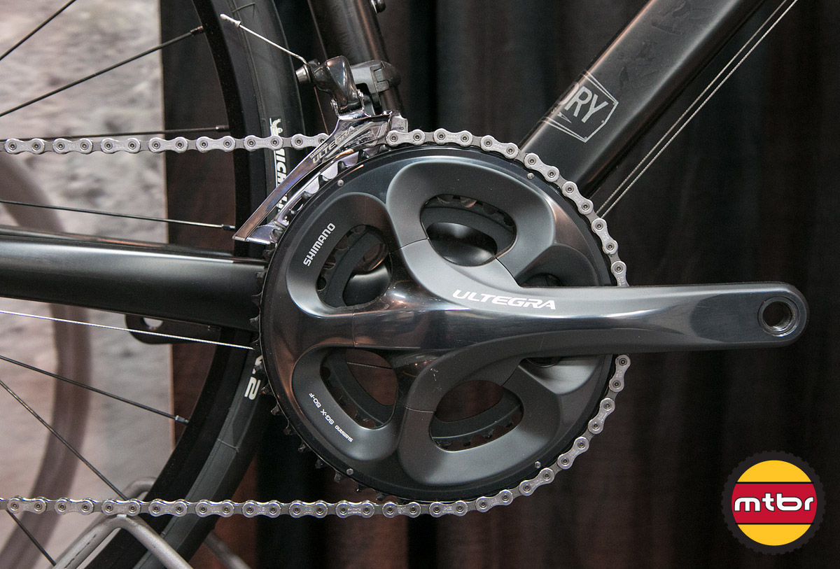 Foundry Thresher - Crankset Detail