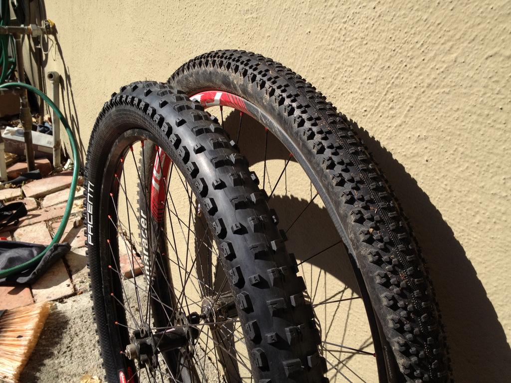 Pacenti Mega Moto 650b and Panaracer Driver Pro 29er tire