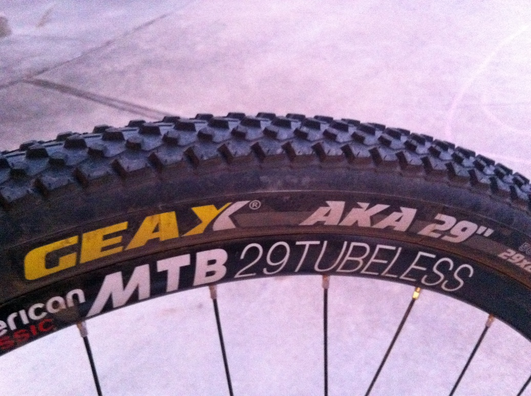Trying out the new Geax AKA 29er tomorrow-img_1882.jpg