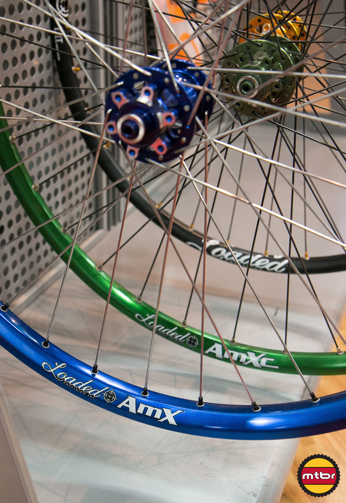 Loaded AmXc & AmX Wheelsets
