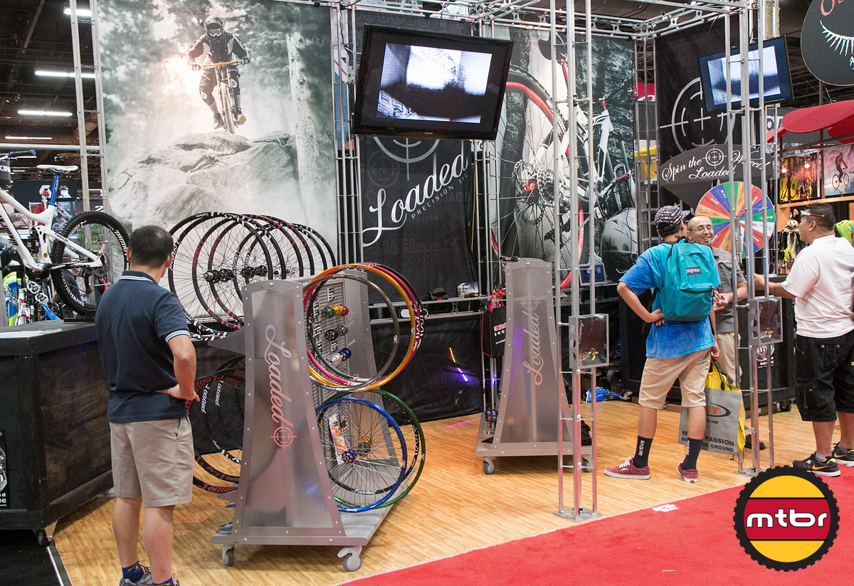 Loaded Interbike 2013 Booth