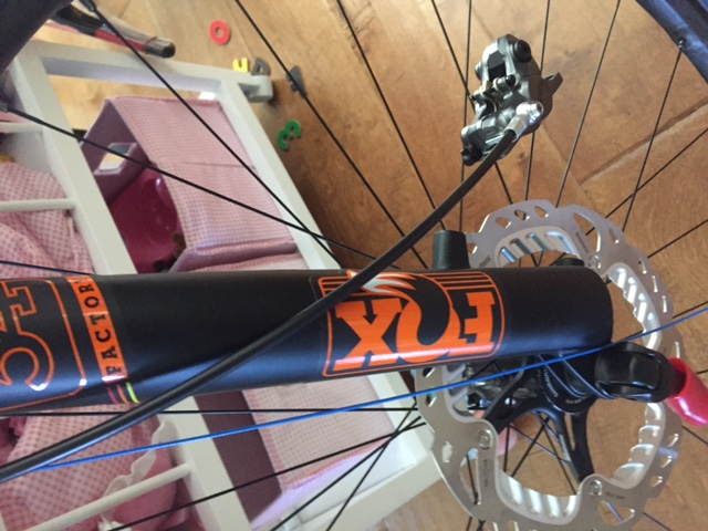 2015 XTR Brakes On 2016 Fox 34 Fork W 29quot Wheels And SMRT