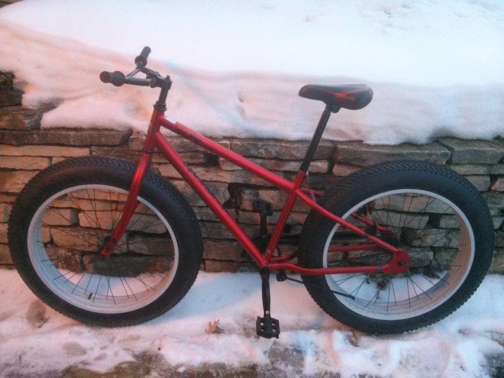 Update The Littlebig Bikes Are Coming Again: Mongoose Beast Review Etc.... Walmart Fatty!- Mtbr.com