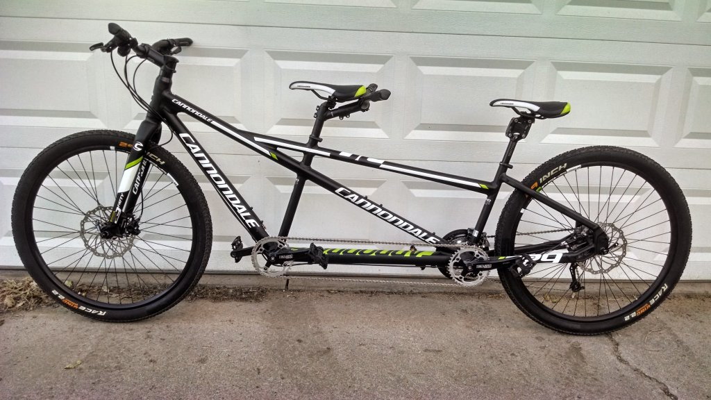 Anyone Have A New Cannondale 29er Tandem Mtbr Com
