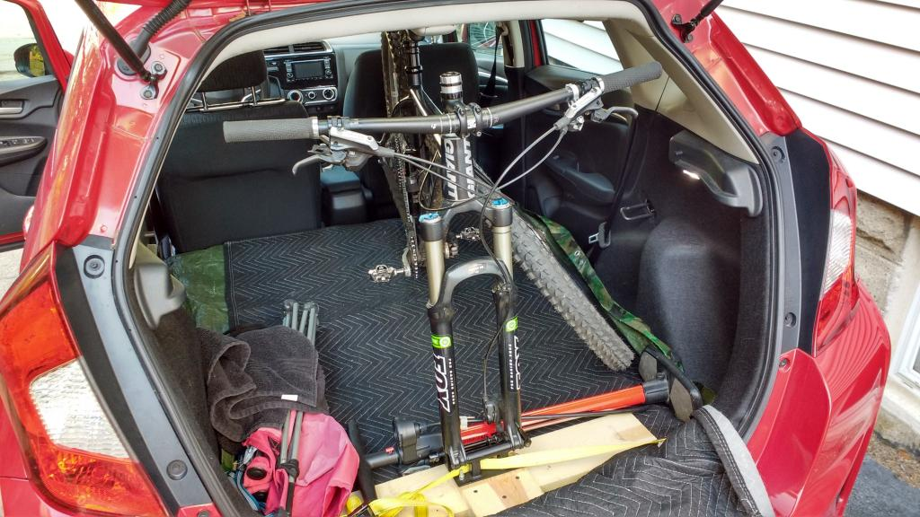 3rd Generation Honda Fit Cargo Space Mtbr Com