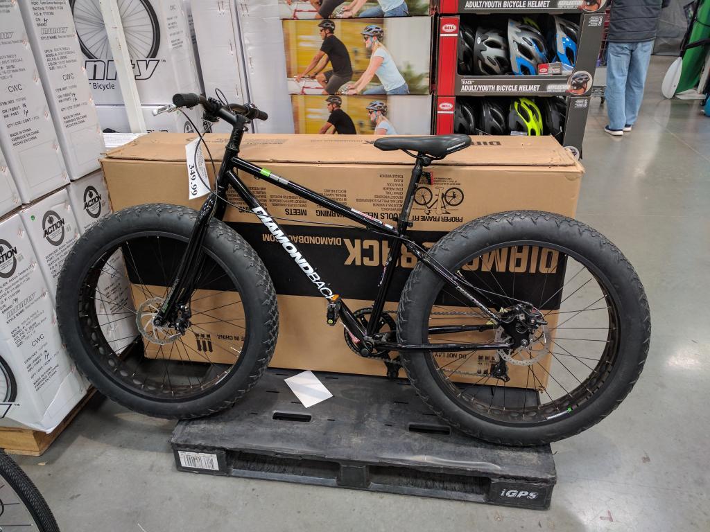 Bronco Fat Tire Bike