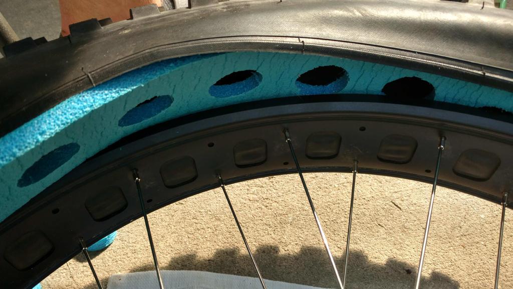 Tire Insert Options Procore Huck Norris Flat Tire
