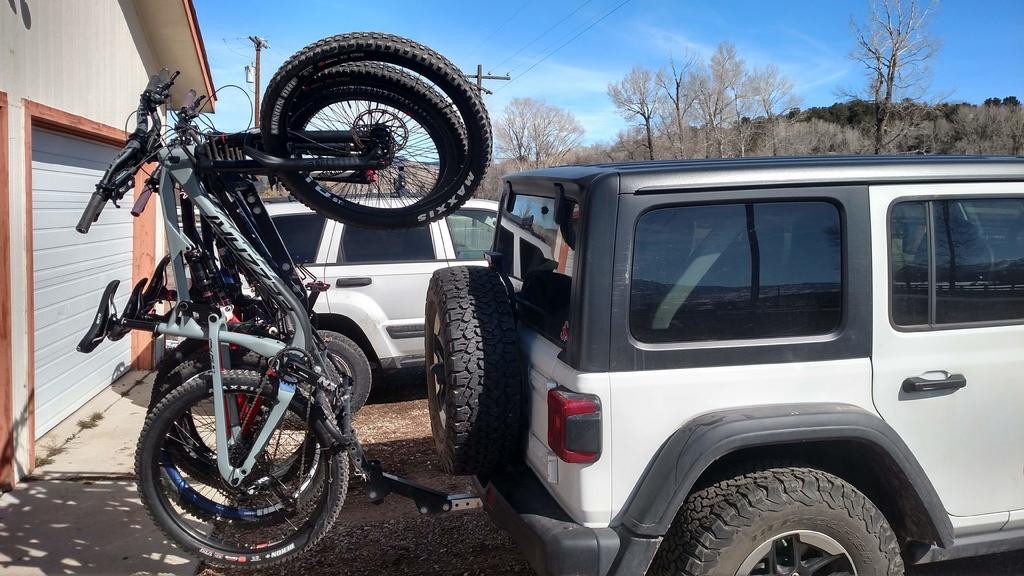jeep wrangler rack bike jl racks mtbr