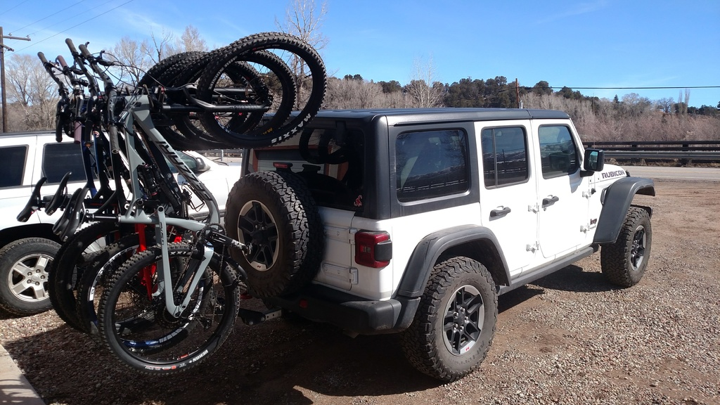 Jeep Wrangler Jl Bike Rack Mtbr Com