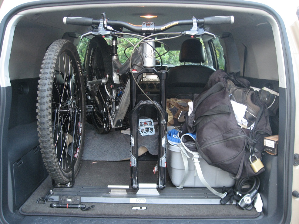 Looking For Car Interior Bike Rack Design Ideas For Vertical Bike
