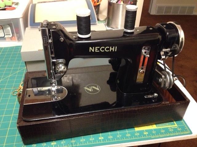 1948 necchi bf. Vintage Sewing Machines ... & Vintage Sewing Machines for DIY bikepacking gear- Mtbr.com