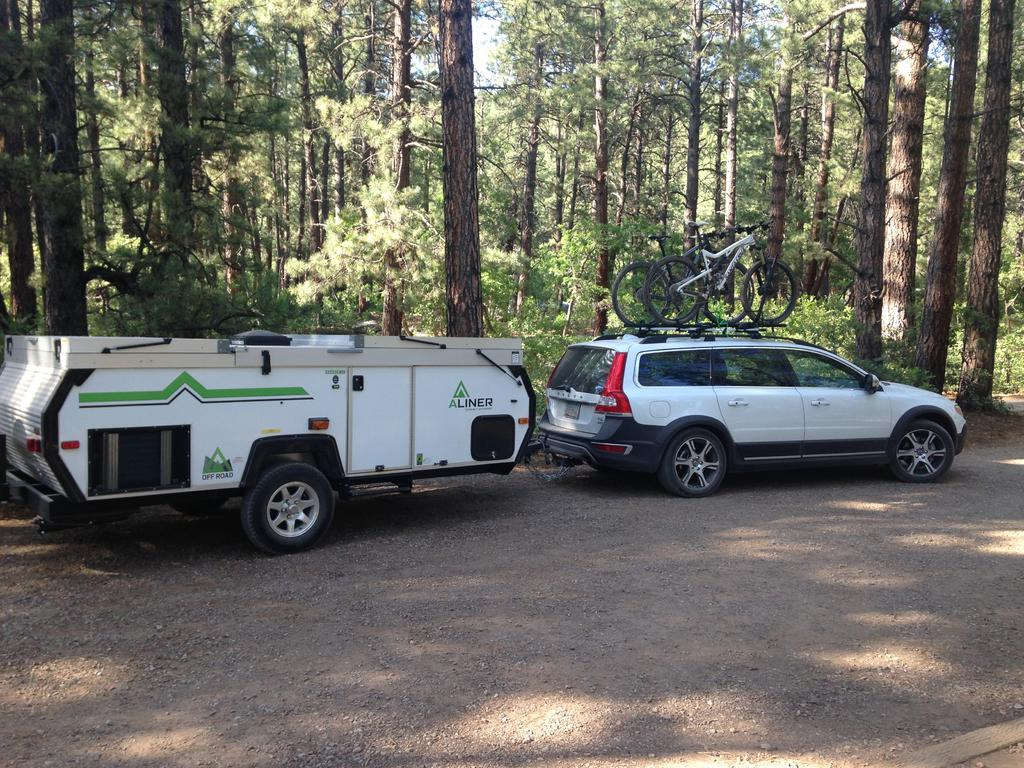 Small Camper Popup Trailers Towed By Car Img 2328