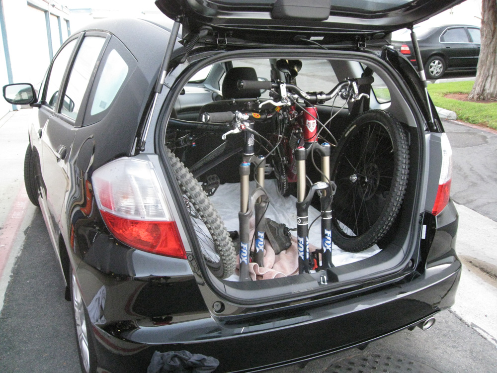09 Honda Fit And Mountain Bikes Mtbr