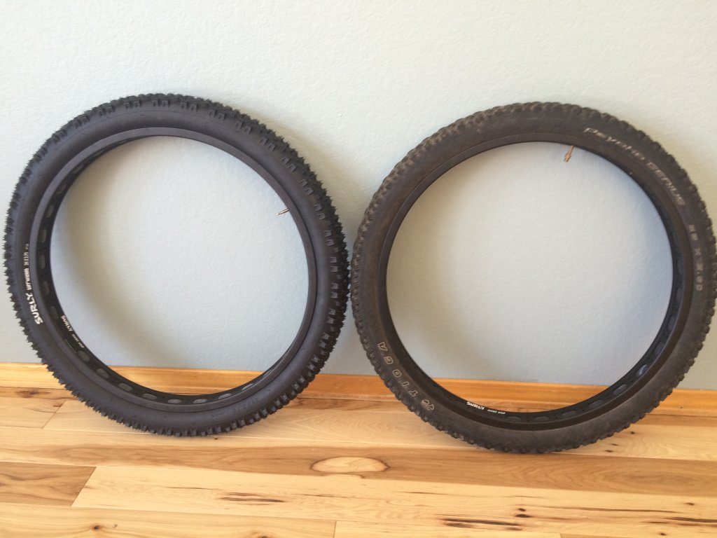 On One B.S.C Type1 26 X 3.5 Fat Bike tyre