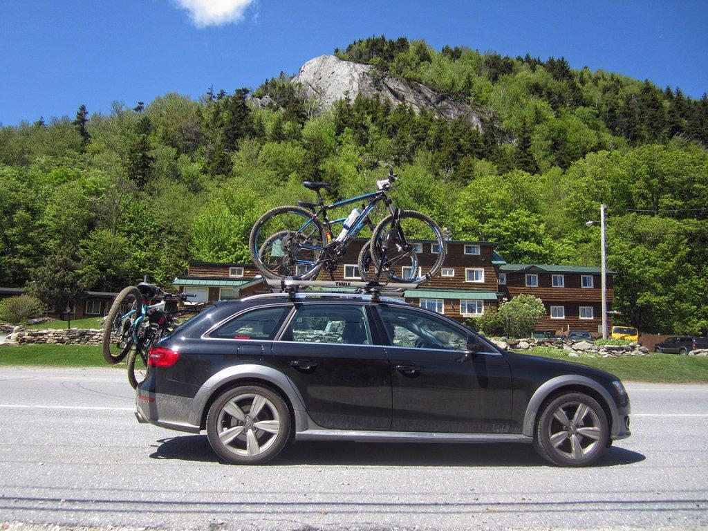 Audi a4 avant 2013 roof rack 16