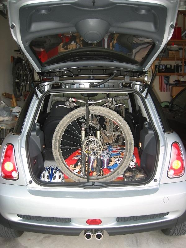 Saris Bones Bike Rack >> Mini cooper roof or hitch rack?