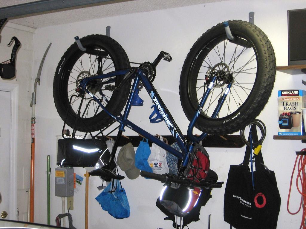 Hanging Up A Fat Bike Mtbr Com