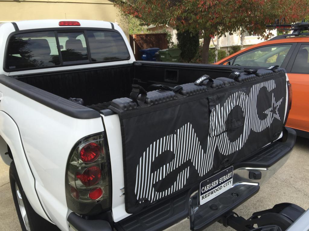 Truck Bed Pad >> Best Tailgate Pad Mtbr Com