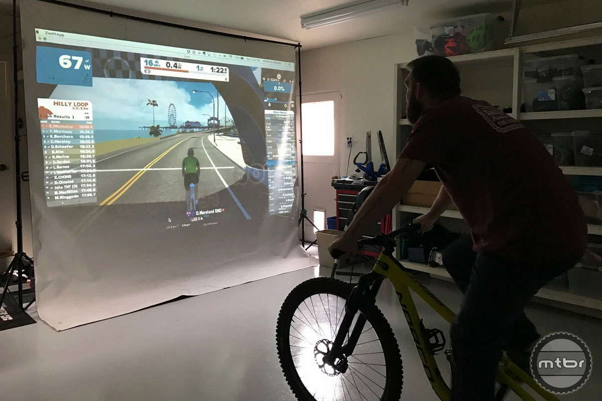 Wahoo Kickr Trainer and Zwift