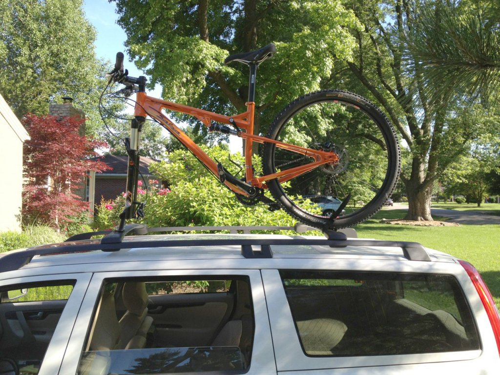 Cheapest Diy Bike Mount For Your Car Kuat Dirtbag Mtbr Com