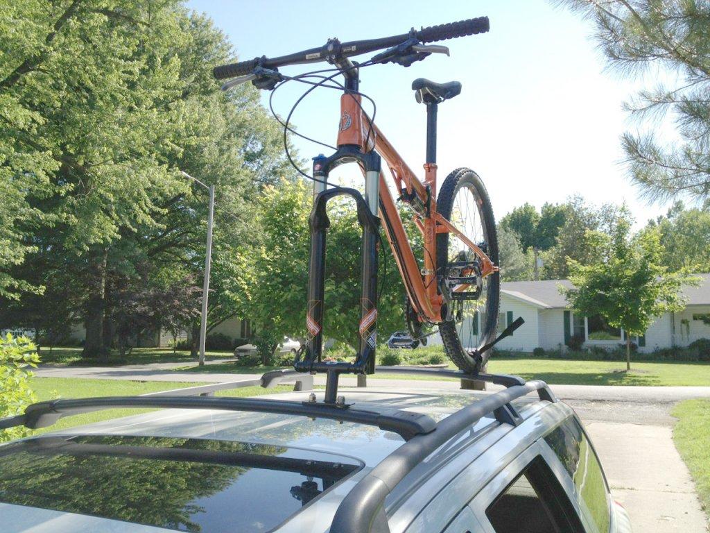 Cheapest Diy Bike Mount For Your Car Kuat Dirtbag Mtbr Com
