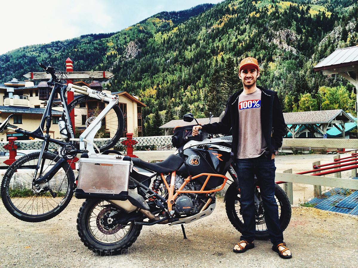 It's a bike on a bike — and it's a whole lot of fun. Photo by Cole Kirkpatrick