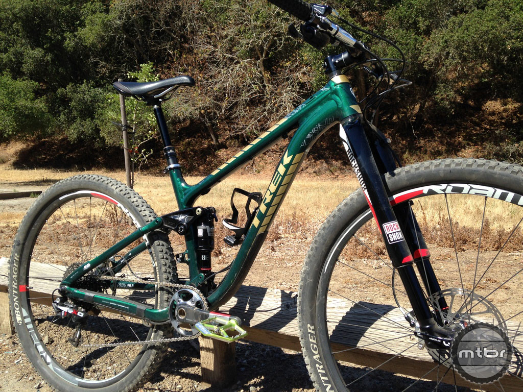 RockShox Monarch on Trek