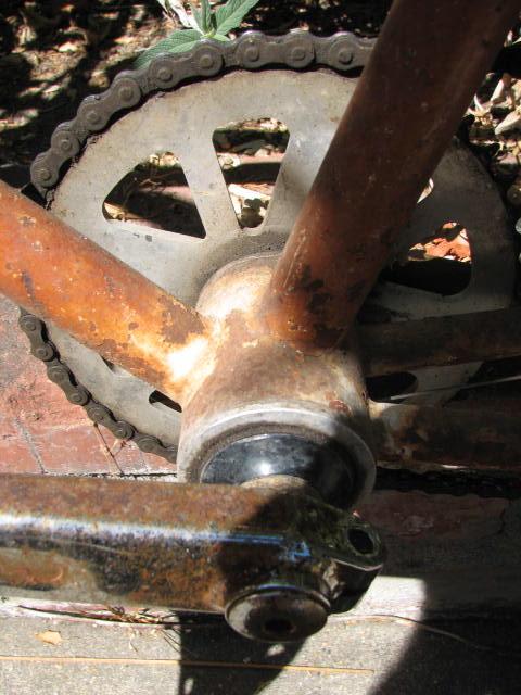 Another Yard Sale Score-Mystery Klunker Bike-Help Identify Please-img_5855.jpg