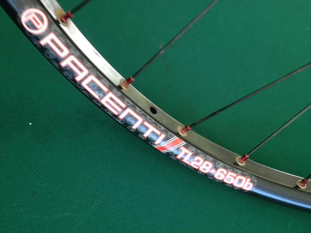 Pacenti TL28 650b Rim Profile