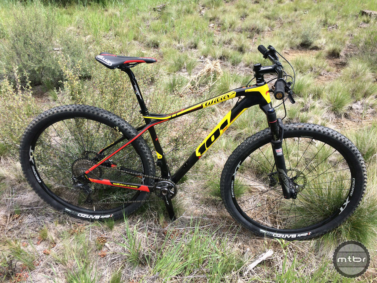 Wilier Triestina 101x Cross Country Bike Review Mtbr Com