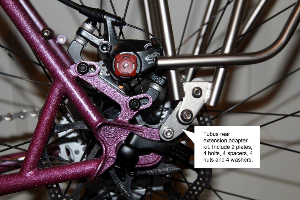 Straggler Rear Rack Options
