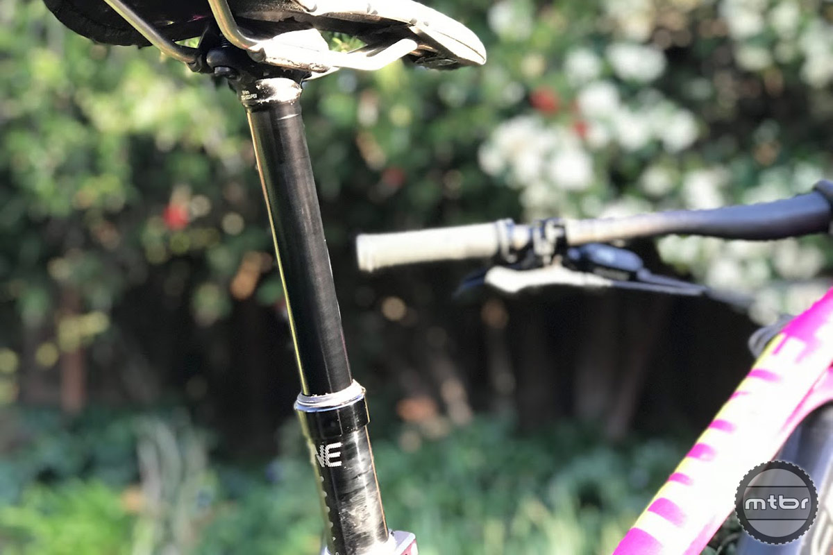OneUp dropper post video review