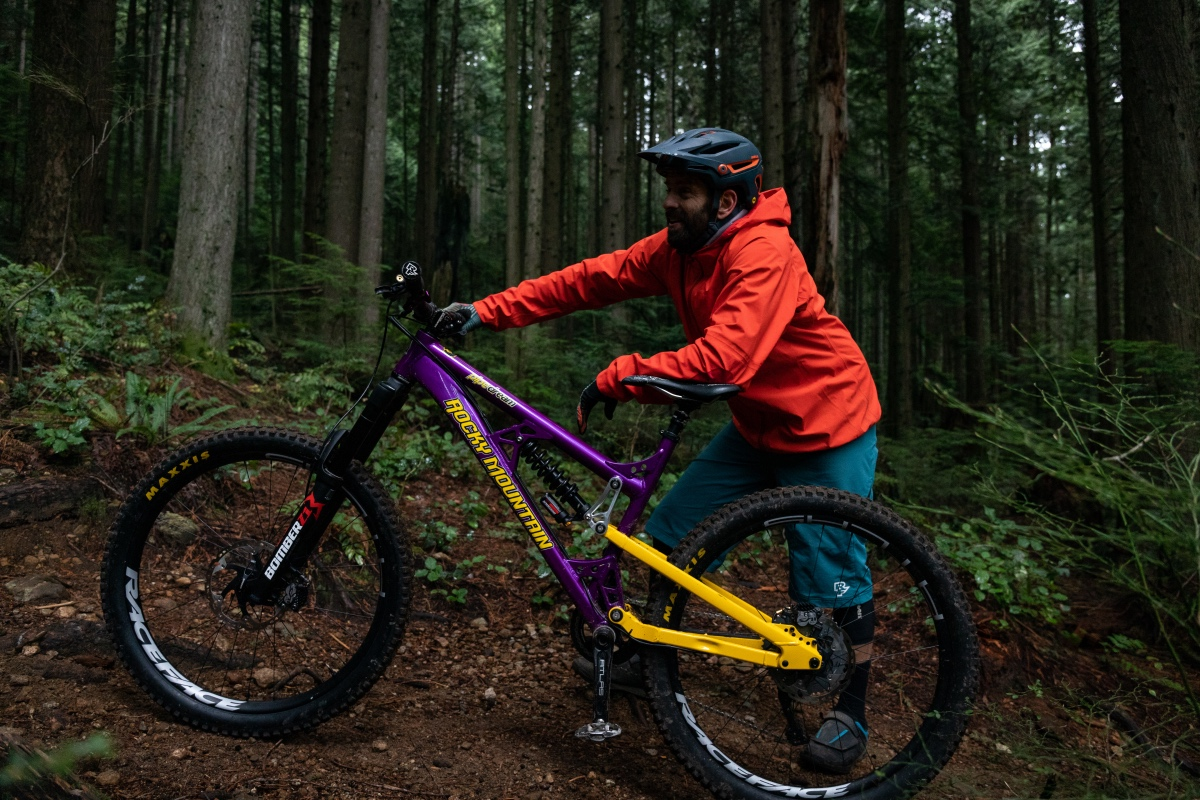 Marzocchi Bomber CR coil shock launched