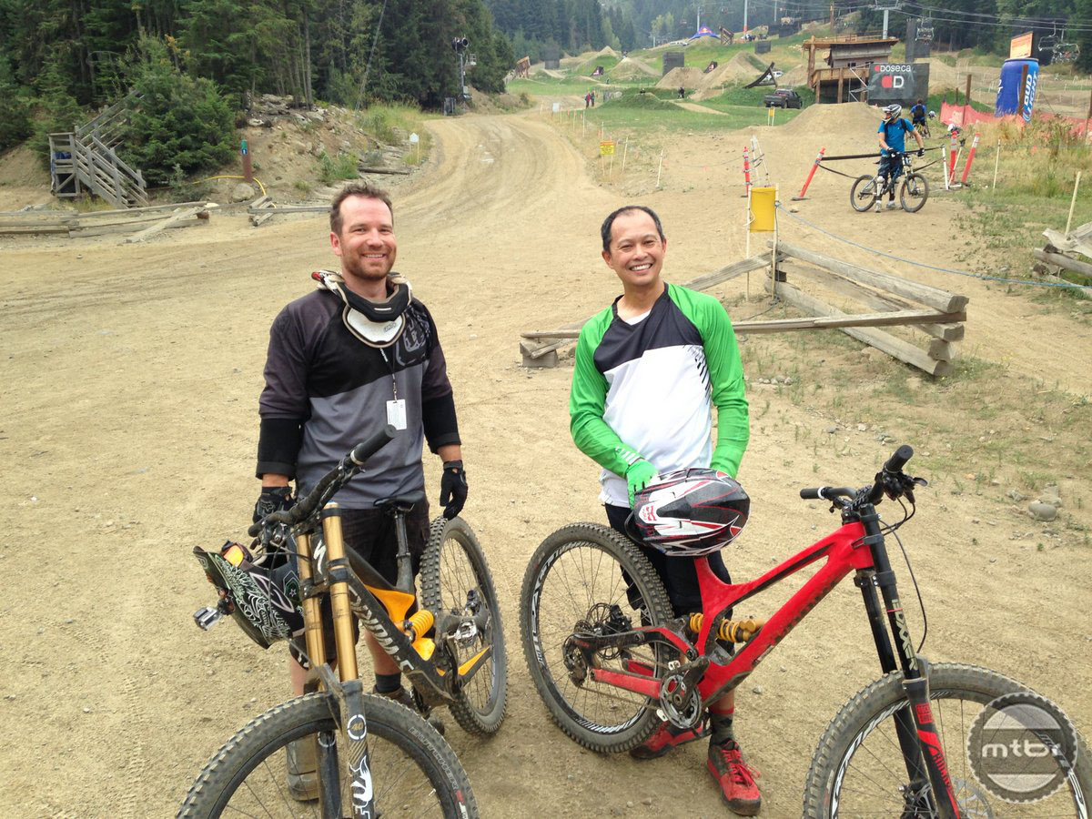Riding the Specialized 2FO shoe in Whistler